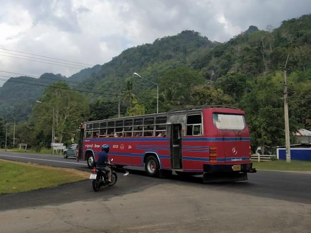 Public bus, Kanchanaburi.