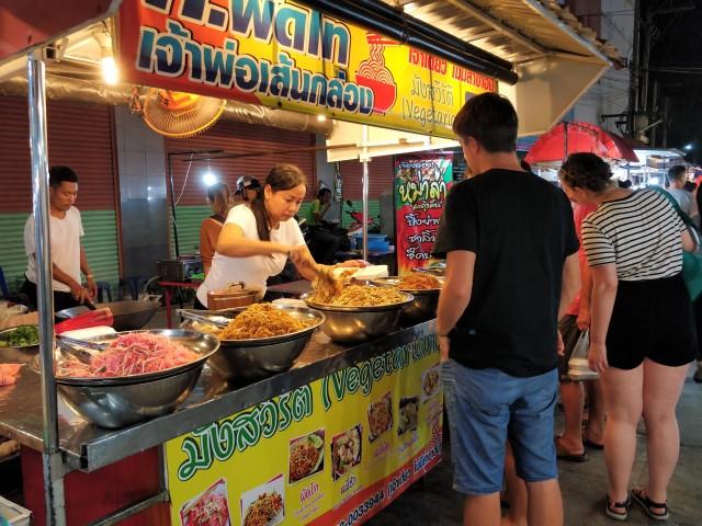 Kanchanaburi Night Market.