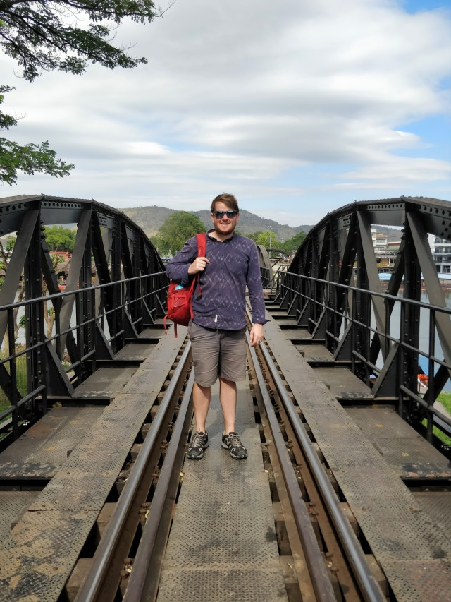 Bridge over the River Kwai, Kanchanaburi.