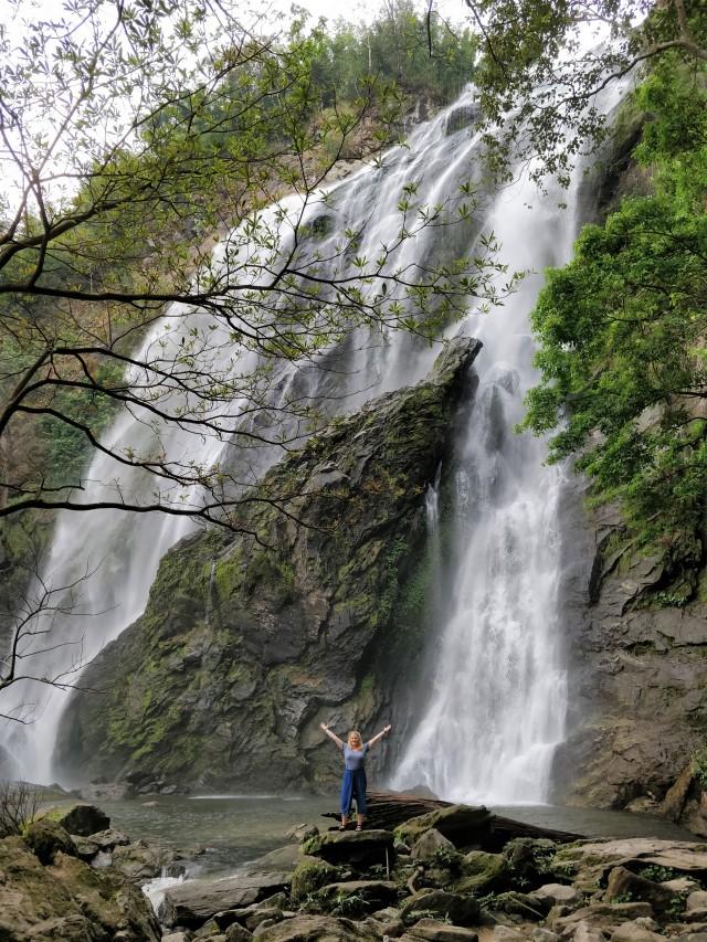 Khlong Lan National Park Waterfall, Kamphaeng Phet.