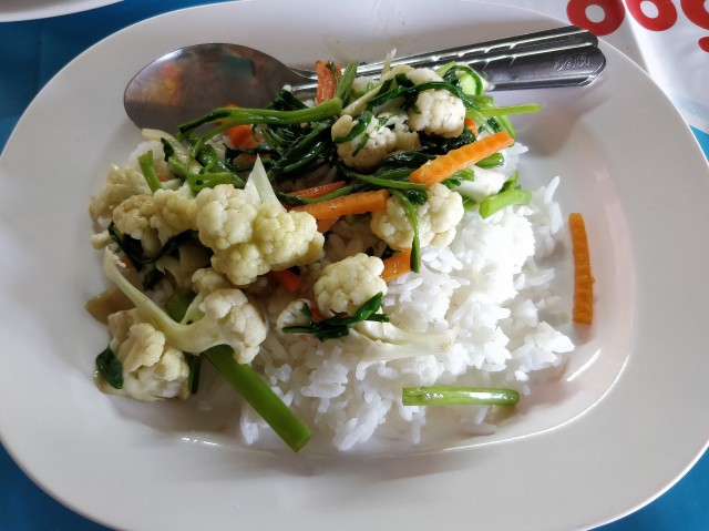 Kamphaeng Phet National Park food.