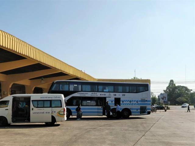 Kamphaeng Phet Bus Station.